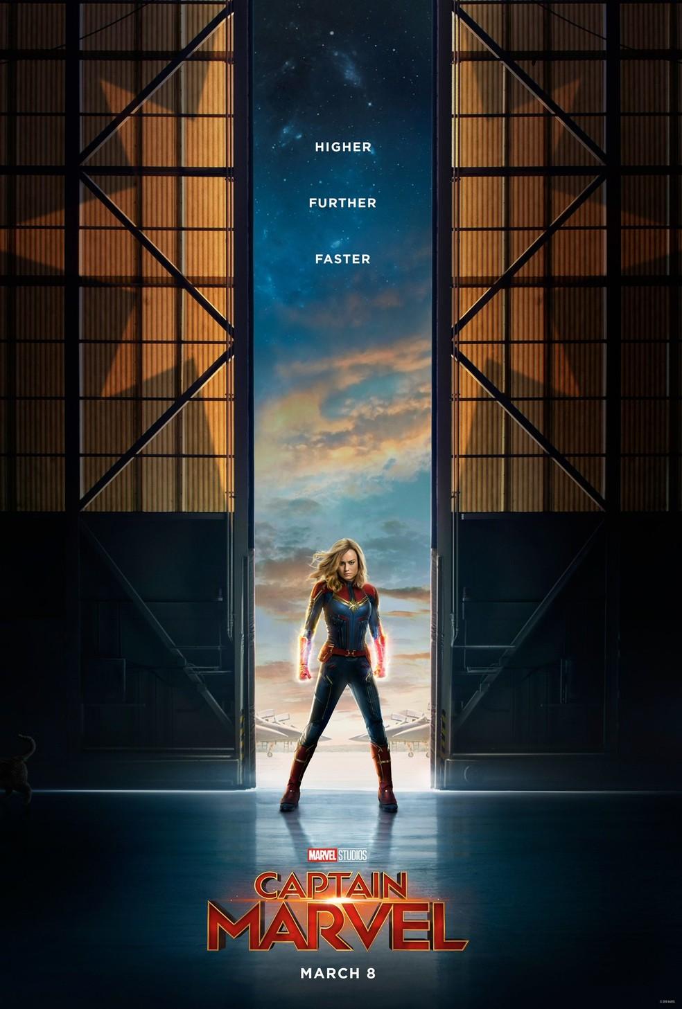 Capitã Marvel — Foto: Divulgação