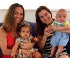 Flávia Monteiro, Sophia, Adriana Garambone e Gael | Marcus Montenegro