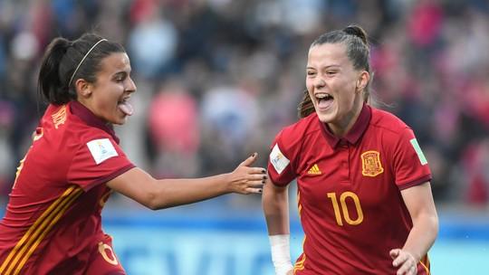Atacante espanhola termina como artilheira do torneio disputado no Uruguai 73dfa78c7b5e5