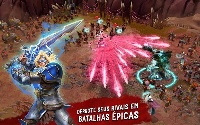 Jogo de estratégia tem foco em guerreiros poderosos (Foto: Divulgação)