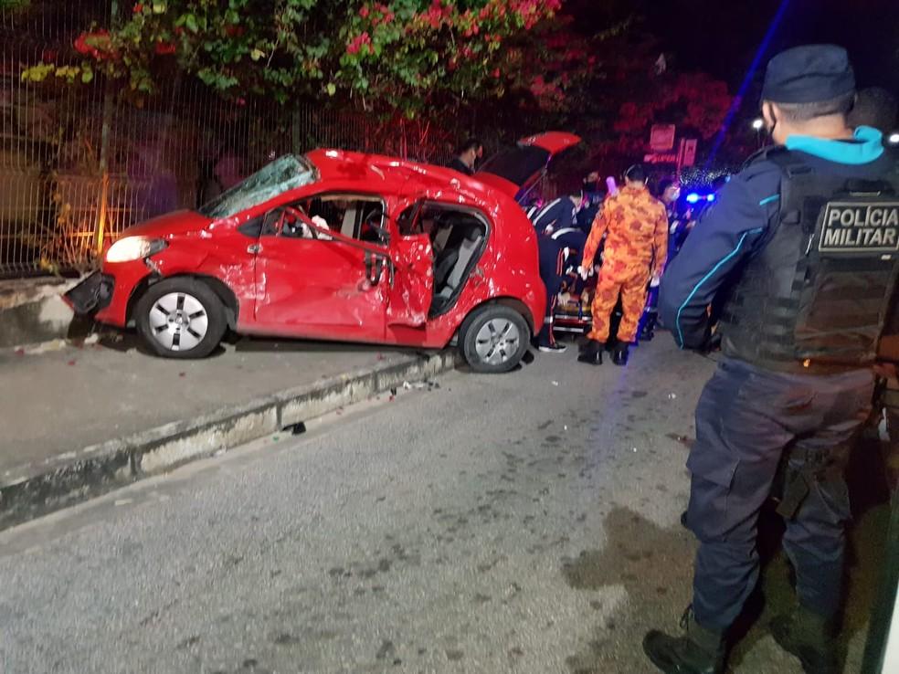 Familiares afirmam que a vítima estava a caminho do Bairro Castelão quando o acidente aconteceu. — Foto: Rafaela Duarte/ SVM