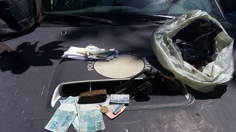 Suspeito de balear adolescentes em Lauro de Freitas morre em confronto com policiais — Foto: Divulgação/PM
