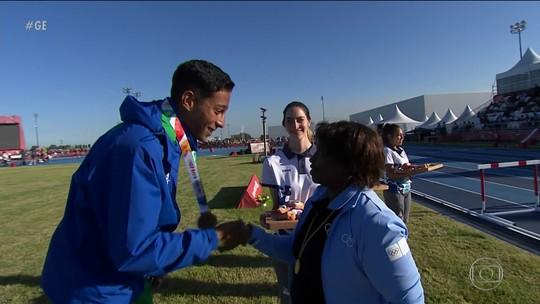 Brasil sobe ao pódio duas vezes no atletismo dos Jogos Olímpicos da juventude