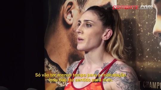Potencial fim da pesagem matinal não repercute bem entre atletas no UFC 225