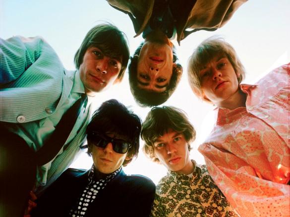 Os músicos do Rolling Stones em imagem de 1967
