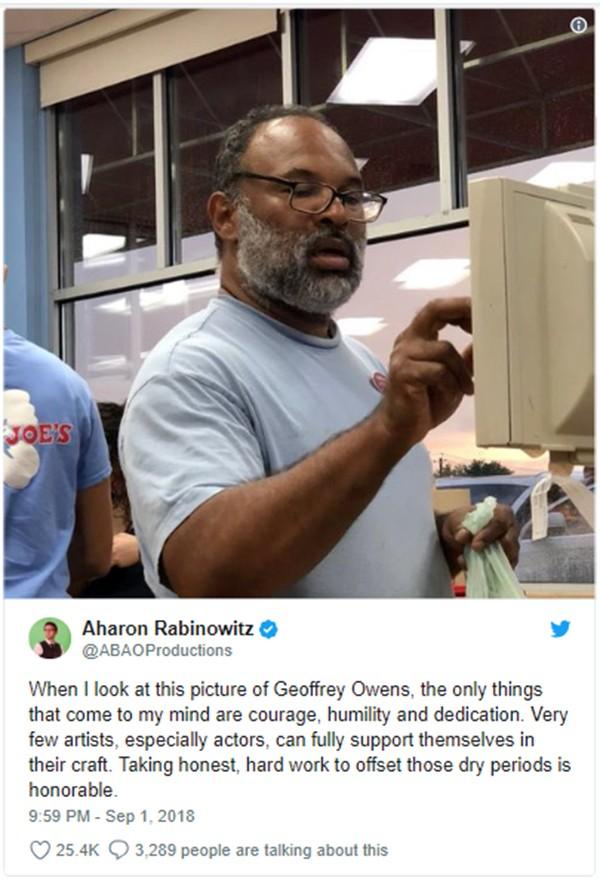Geoffrey Owens (Foto: Twitter)