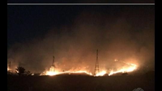 Incêndio consume 3 mil hectares de Parque Nacional no sudeste do Pará