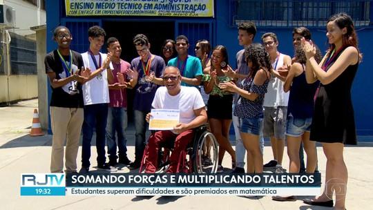 Sem sucesso com vaquinha para viajar para olimpíada de matemática, alunos do RJ doam valor arrecadado para deficientes físicos