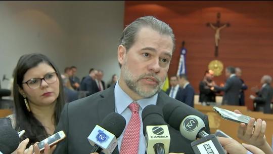 Toffoli fala sobre suspensão de inquéritos com dados do Coaf