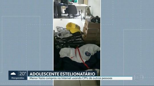 Adolescente de 16 anos é apreendido na Baixada Fluminense por suspeita de  estelionato