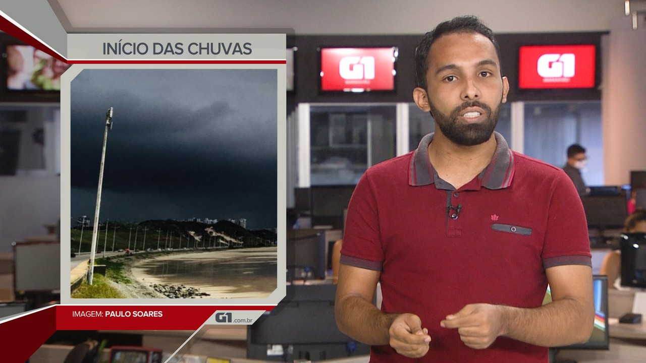 G1 em 1 Minuto: Meteorologia prevê chuvas mais fortes a partir de dezembro em São Luís