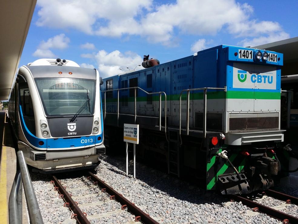 Trem CBTU — Foto: Divulgação