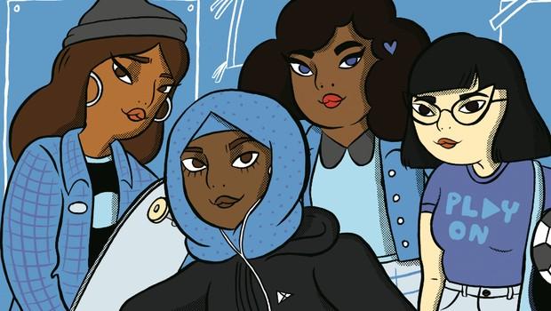 Arte do Desafio Change the Game, criado para mulheres de 15 a 21 anos (Foto: Divulgação)