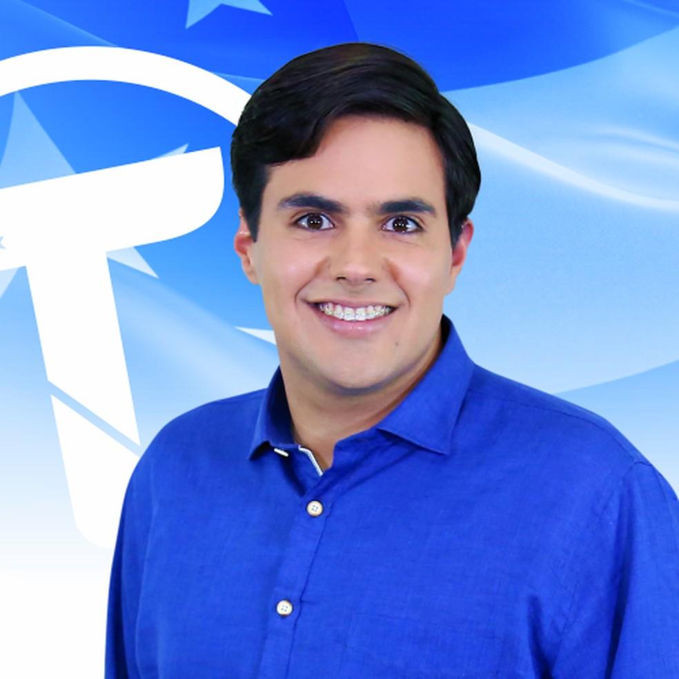 Talysson de Valmir foi eleito deputado estadual em Sergipe. — Foto: Reprodução/Facebook