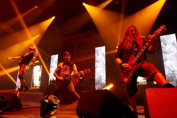 Os músicos da banda Slayer (Foto: Getty Images)