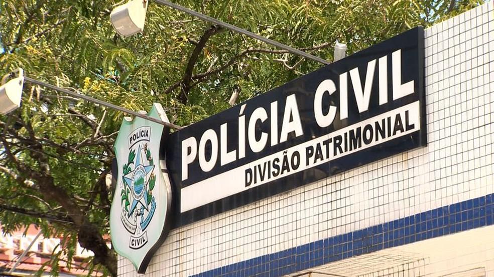 Caso foi investigado pela Delegacia Especializada de Repressão aos Crimes Cibernéticos do Espírito Santo, que fica na Divisão Patrimonial, em Vitória — Foto: Reprodução/TV Gazeta