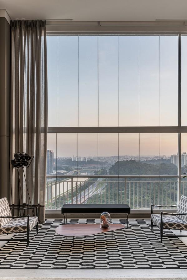 apartamento tem vista para o parque Burle Marx