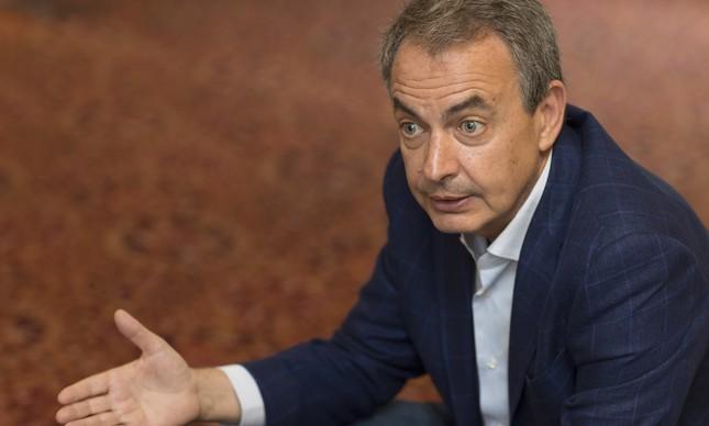O ex-presidente da Espanha Jose Luis Zapatero