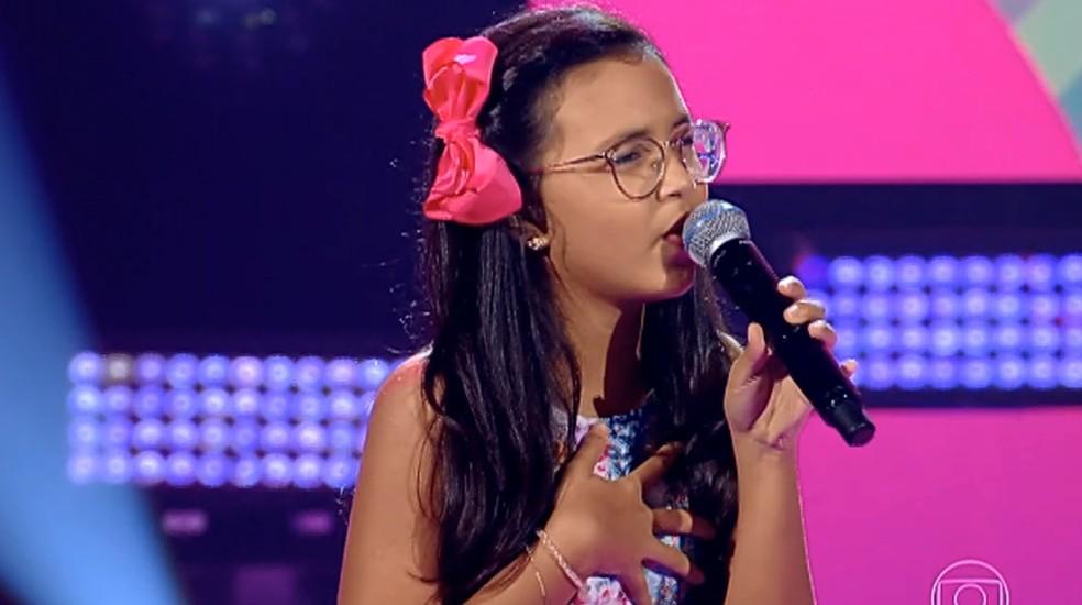 Iara Abreu tem 11 anos e é de Natal, RN.  — Foto: TVGLOBO
