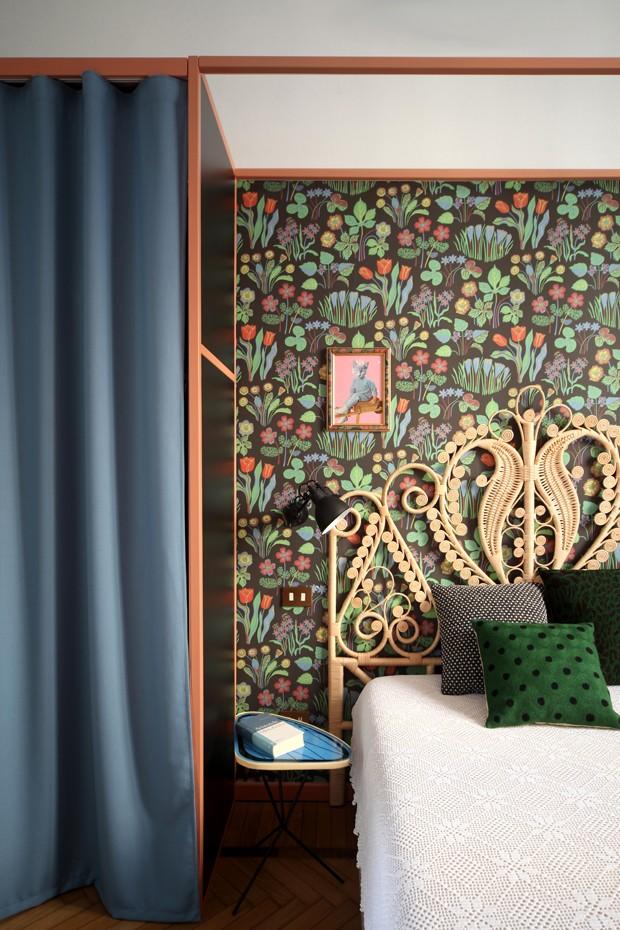 Décor do dia: quarto com espírito boho reinventado (Foto: divulgação)