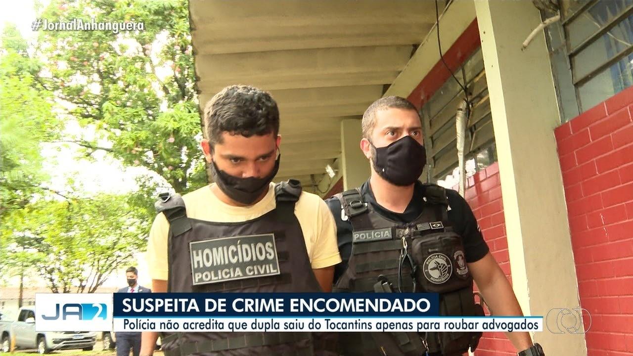 Jovem considerado matador de aluguel confessa ter assassinado advogados em Goiânia