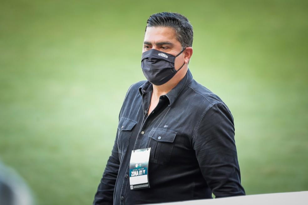 Sérgio Sette Câmara, presidente do Atlético-MG, chegou a ser convencido de contratação de Thiago Neves — Foto: Bruno Cantini/Atlético-MG