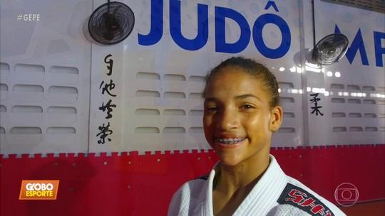 Títulos internacionais apresentam judoca pernambucana Rebeka Venceslau ao Mundo