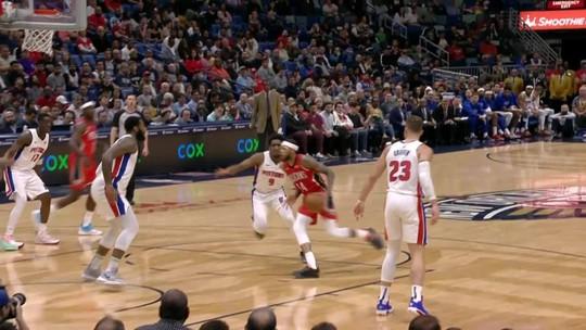 Noite de NBA tem vitórias no estouro do relógio⏰, pintura de Harden e gigante sem rumo🤣