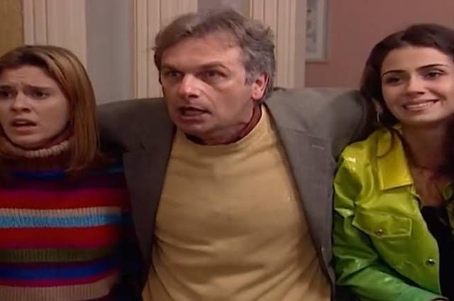 Carolina Dieckmann, Henri Pagnocelli e Giovanna Antonelli em 'Laços de família' (Foto: TV Globo)