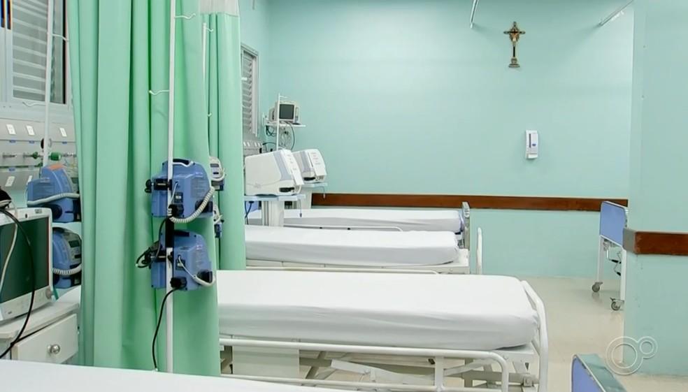 Sorocaba possui 141 leitos de UTI para pacientes com Covid-19 — Foto: Reprodução/TV TEM