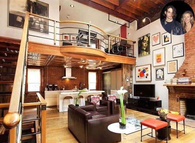 O apartamento fica na cidade de Nova York e abrigou o casal em 1994 (Foto: Keller Williams/ Reprodução)