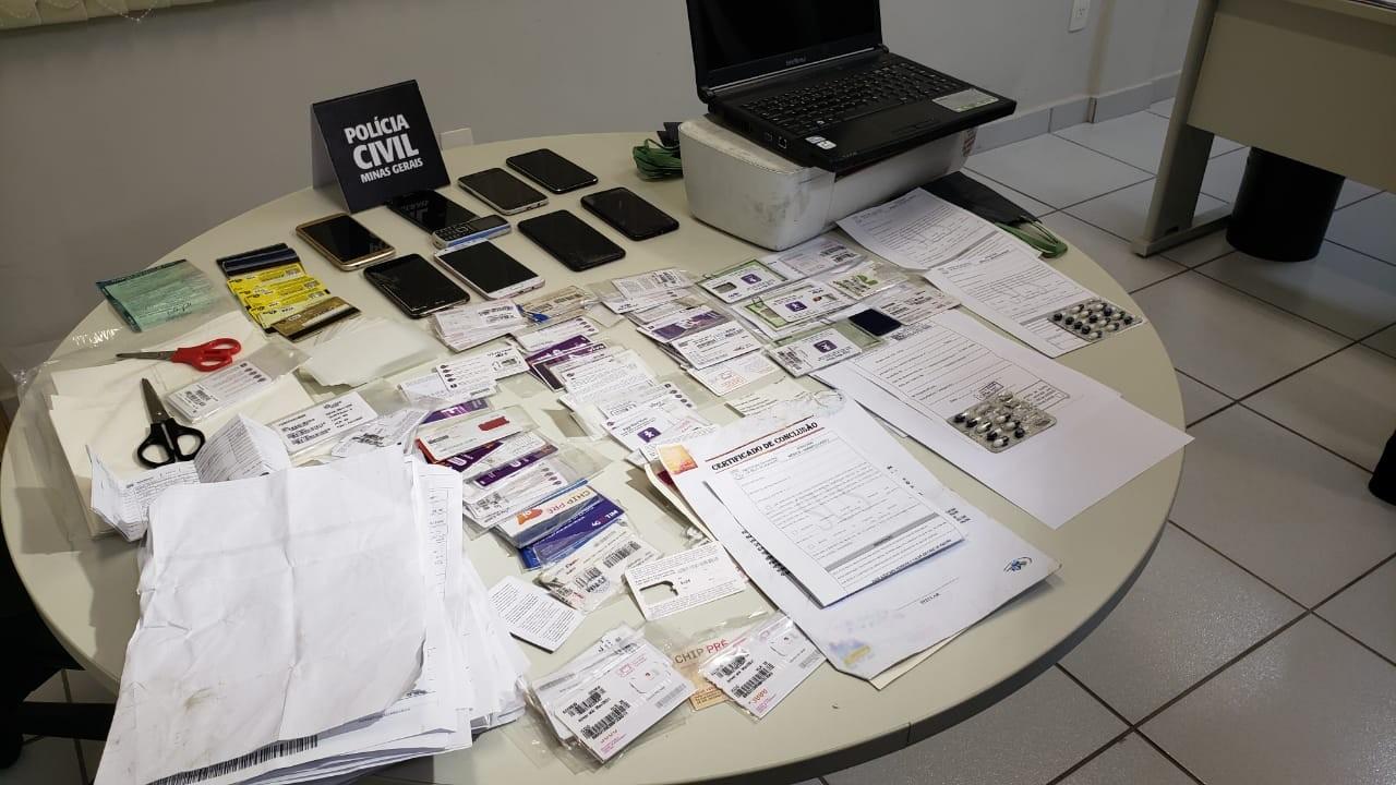 Polícia Civil prende suspeitos de estelionato em BH