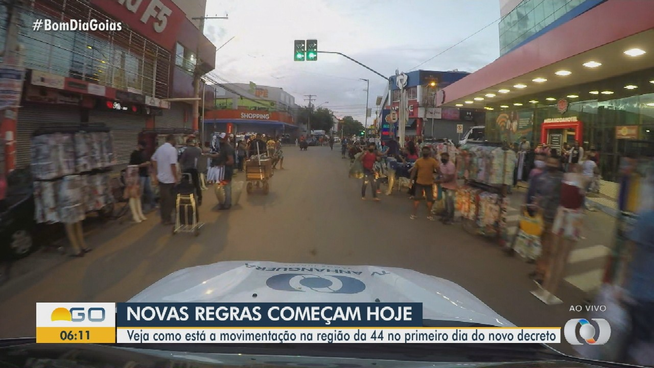Região da 44 tem novos dias e horários de funcionamento em Goiânia