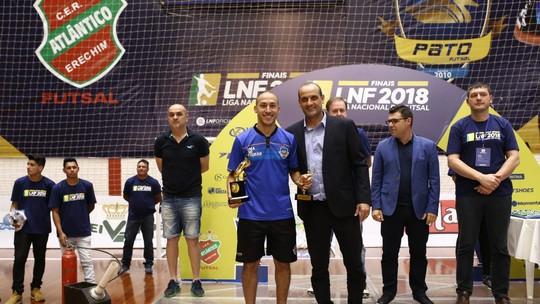 f90b8aa15c Artilheiro do Pato na competição com 17 gols