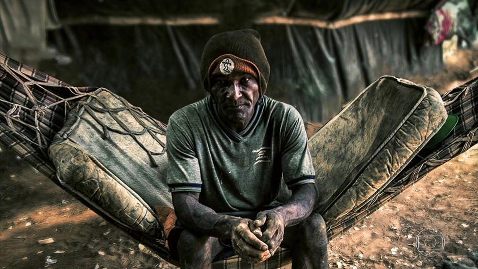 Fantástico - trabalho escravo (Foto: Reprodução/Fantástico)