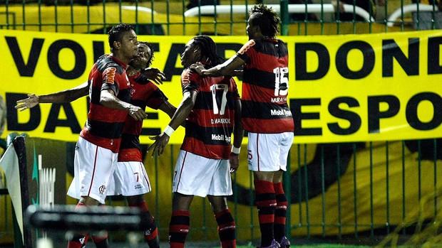 david braz flamengo gol volta redonda (Foto: Fábio Castro / Agência Estado)