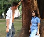 César  (Alejandro Claveaux) e Itália (Sabrina Petraglia) | TV Globo