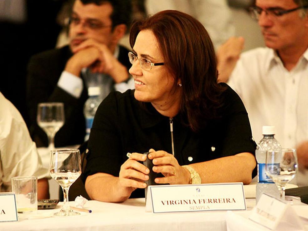 Virgínia Ferreira é anunciada futura secretária de Administração do RN — Foto: Alex Régis/PMN