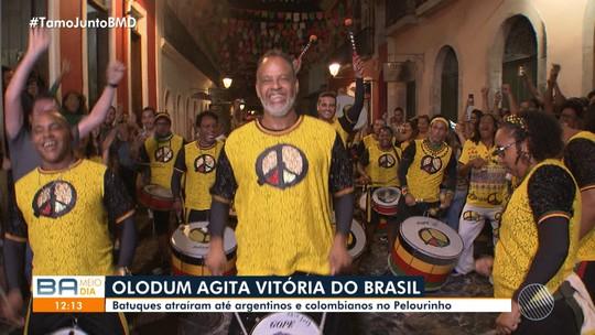 Copa América 2019: Olodum anima a torcida na vitória do Brasil contra a Bolívia