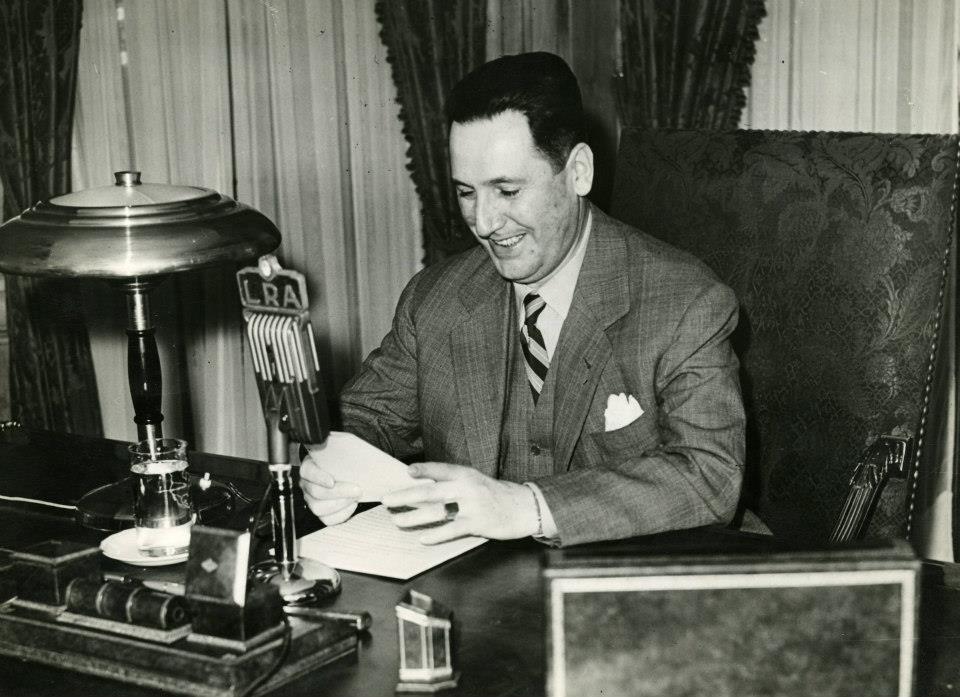 O presidente argentino Juan Domingos Perón (Foto: Wikimedia Commons)