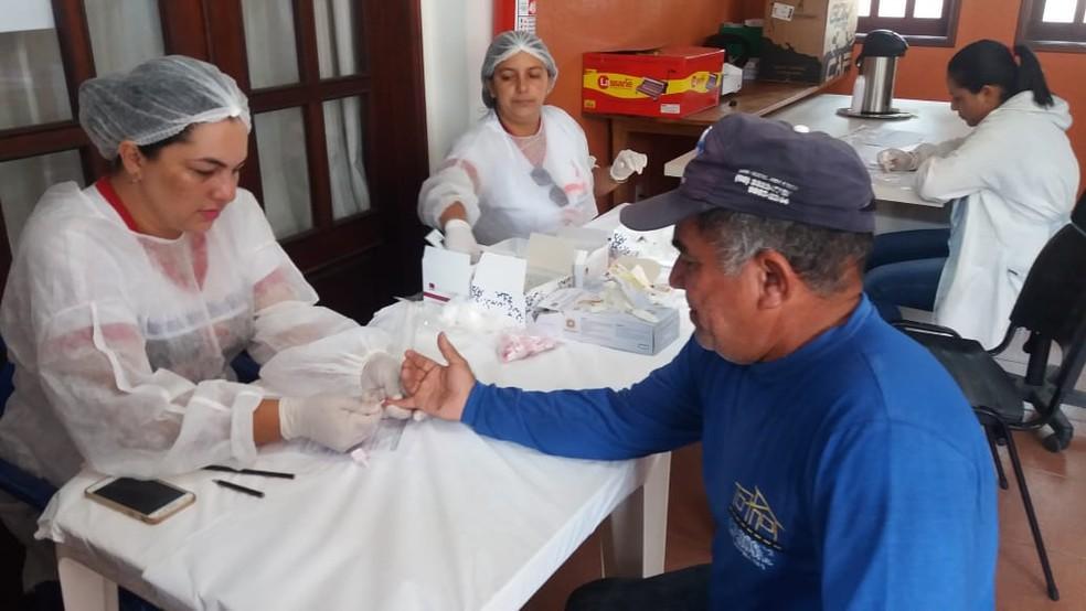 Os servidores foram liberados do trabalho para cuidar da saúde — Foto: Mazinho Rogério/G1