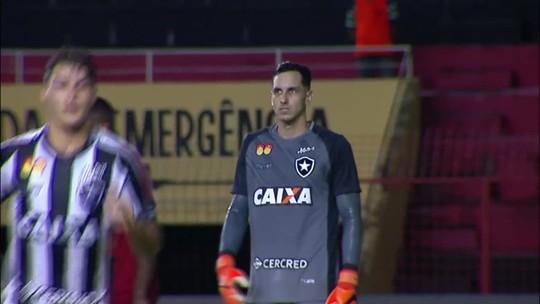 Confira as grandes defesas de Gatito no jogo do Botafogo contra o Sport pelo Brasileirão