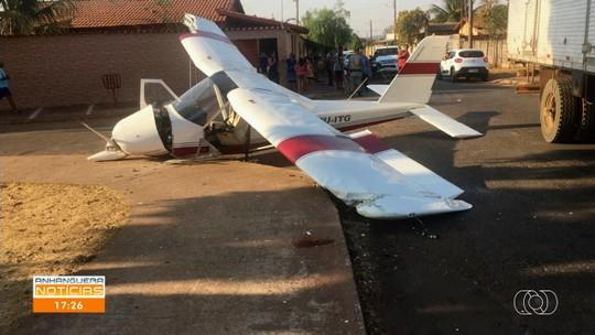 Telespectador registra pouso forçado de avião em Trindade
