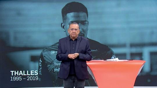 Galvão pede desculpas por não ter registrado a morte de Thalles na transmissão de Brasil x Peru
