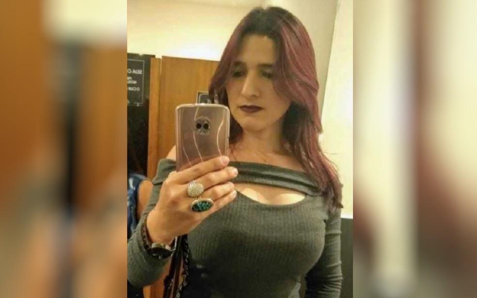 Vanusa da Cunha Ferreira morreu após transportar passageiro, em Goiânia — Foto: Reprodução/TV Anhanguera