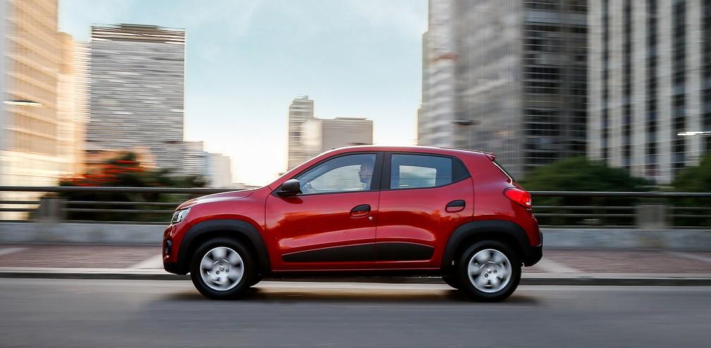 Renault Kwid Zen tem boa relação entre peso e potência (Foto: Divulgação)