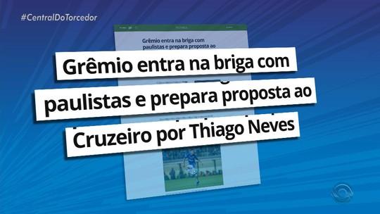 """Grêmio blinda negociação por Thiago Neves e vê especulações """"além da medida"""""""