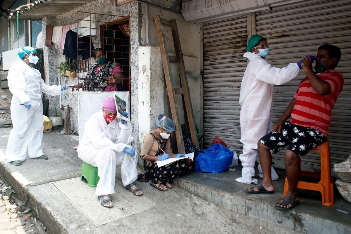 Global News - Índia registra o recorde global de infecções pelo coronavírus: 90 mil em um único dia thumbnail