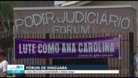 Advogados protestam em apoio à juíza que denunciou precariedade no Fórum de Xinguara no Pará