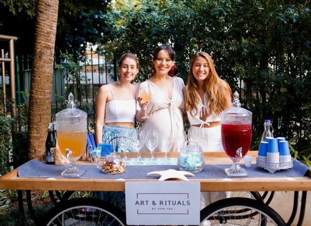 Raphaella Mardini , Geovanna e Camila Oliveira da Art e Rituals (Foto: MUKUA Kids)